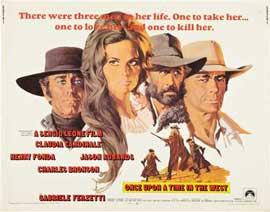 Once Upon a Time in the West - 22 x 28 Movie Poster - Half Sheet Style A