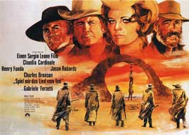 Once Upon a Time in the West - 22 x 28 Movie Poster - German Style A