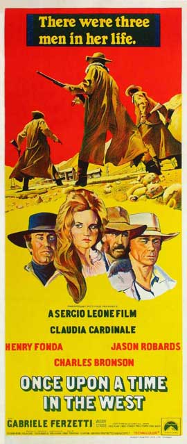Once Upon a Time in the West - 13 x 28 Movie Poster - Italian Style A