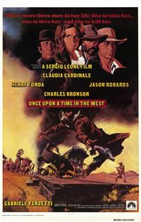 Once Upon a Time in the West - 11 x 17 Movie Poster - Style A - Museum Wrapped Canvas