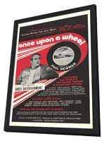 Once Upon a Wheel - 11 x 17 Movie Poster - Style A - in Deluxe Wood Frame
