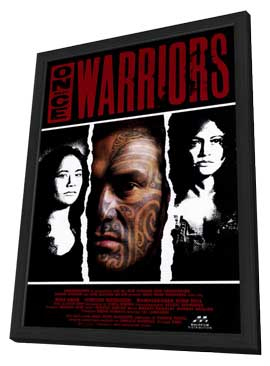 Once Were Warriors - 11 x 17 Movie Poster - Style B - in Deluxe Wood Frame