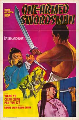 One Armed Swordsman - 11 x 17 Movie Poster - Style A