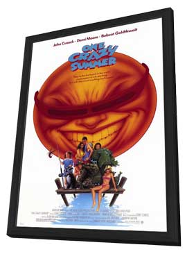 One Crazy Summer - 11 x 17 Movie Poster - Style A - in Deluxe Wood Frame
