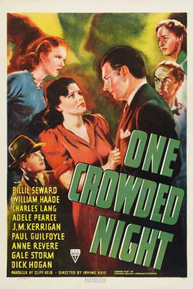 One Crowded Night - 27 x 40 Movie Poster - Style A