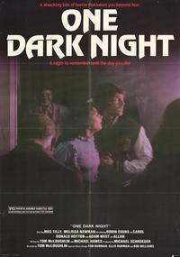 One Dark Night - 27 x 40 Movie Poster - Style A