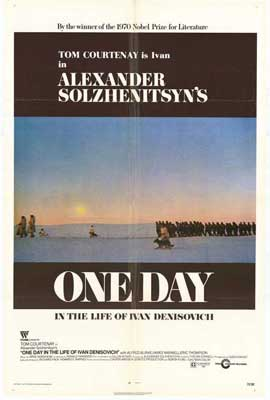 One Day in the Life of Ivan Denisovich - 27 x 40 Movie Poster - Style A
