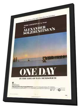 One Day in the Life of Ivan Denisovich - 11 x 17 Movie Poster - Style A - in Deluxe Wood Frame