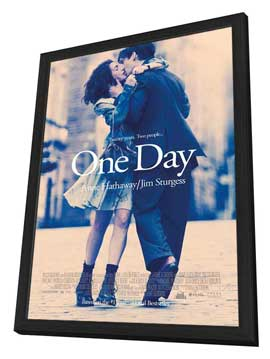 One Day - 27 x 40 Movie Poster - Style A - in Deluxe Wood Frame