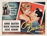 One Desire - 27 x 40 Movie Poster - Style A