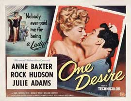 One Desire - 11 x 17 Movie Poster - Style A