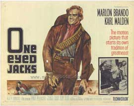 One-Eyed Jacks - 11 x 14 Movie Poster - Style A