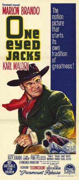 One-Eyed Jacks - 11 x 17 Movie Poster - Style B