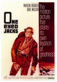 One-Eyed Jacks - 43 x 62 Movie Poster - Bus Shelter Style A