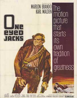 One-Eyed Jacks - 22 x 28 Movie Poster - Half Sheet Style A