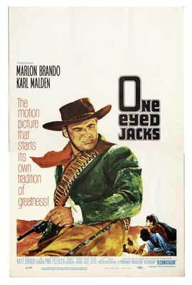 One-Eyed Jacks - 27 x 40 Movie Poster - Style B
