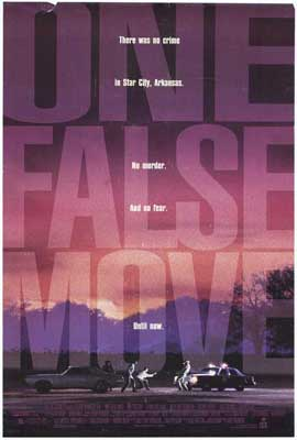 One False Move - 27 x 40 Movie Poster - Style A