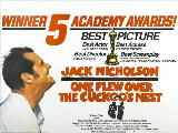 One Flew Over the Cuckoo's Nest - 30 x 40 Movie Poster UK - Style B