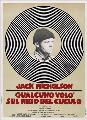 One Flew Over the Cuckoo's Nest - 27 x 40 Movie Poster - Style D