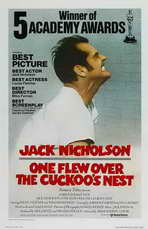 One Flew Over the Cuckoo's Nest - 11 x 17 Movie Poster - Style I