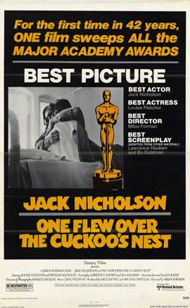 One Flew Over the Cuckoo's Nest - 11 x 17 Movie Poster - Style B
