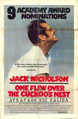 One Flew Over the Cuckoo's Nest - 11 x 17 Movie Poster - Style D