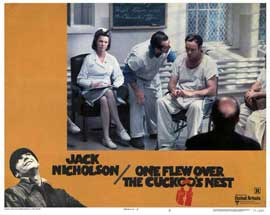 One Flew Over the Cuckoo's Nest - 11 x 14 Movie Poster - Style N