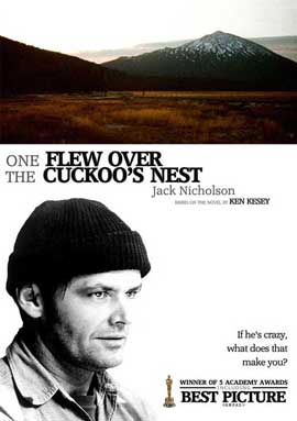 One Flew Over the Cuckoo's Nest - 11 x 17 Movie Poster - Style F