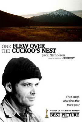 One Flew Over the Cuckoo's Nest - 27 x 40 Movie Poster - Style B