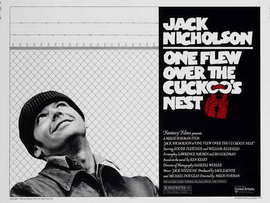 One Flew Over the Cuckoo's Nest - 30 x 40 Movie Poster UK - Style A