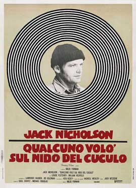 One Flew Over the Cuckoo's Nest - 11 x 17 Movie Poster - Style G