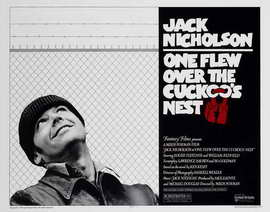One Flew Over the Cuckoo's Nest - 11 x 14 Movie Poster - Style A