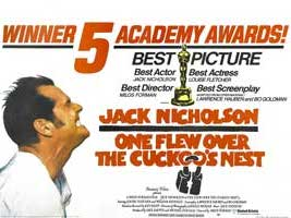 One Flew Over the Cuckoo's Nest - 11 x 17 Movie Poster - Style J