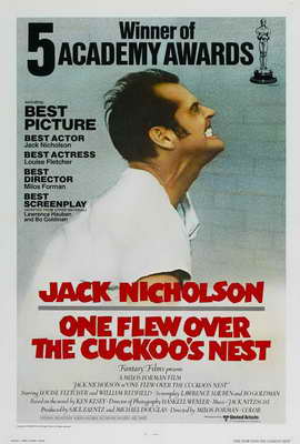 One Flew Over the Cuckoo's Nest - 27 x 40 Movie Poster - Style F