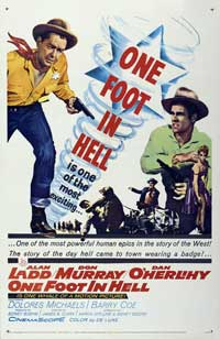 One Foot In Hell - 27 x 40 Movie Poster - Style B