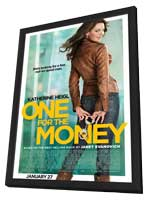 One for the Money - 27 x 40 Movie Poster - Style A - in Deluxe Wood Frame