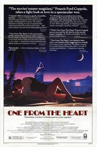One from the Heart - 27 x 40 Movie Poster - Style A