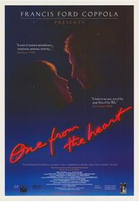One from the Heart - 27 x 40 Movie Poster - Style D