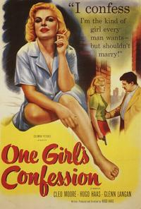 One Girl's Confession - 27 x 40 Movie Poster - Style A
