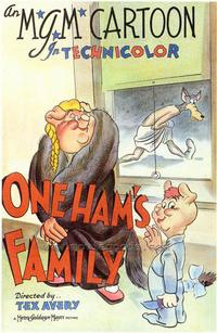 One Ham's Family - 43 x 62 Movie Poster - Bus Shelter Style A