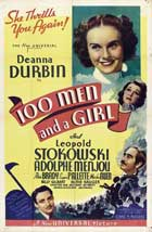 One Hundred Men and a Girl - 11 x 17 Movie Poster - Style D