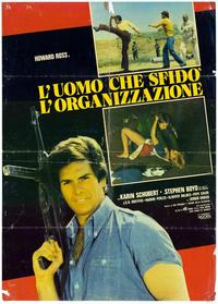One Man Against the Organization - 11 x 17 Movie Poster - Italian Style A