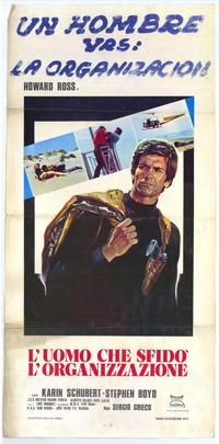 One Man Against the Organization - 27 x 40 Movie Poster - Italian Style B