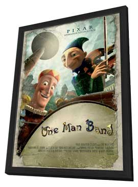 One Man Band - 27 x 40 Movie Poster - Style A - in Deluxe Wood Frame