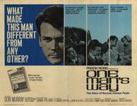 One Man's Way - 11 x 14 Movie Poster - Style A
