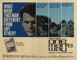 One Man's Way - 22 x 28 Movie Poster - Half Sheet Style A