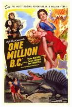 One Million B.C. - 27 x 40 Movie Poster - Style A