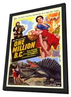 One Million B.C. - 11 x 17 Movie Poster - Style A - in Deluxe Wood Frame