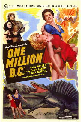 One Million B.C. - 11 x 17 Movie Poster - Style A