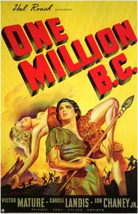 One Million B.C. - 11 x 17 Movie Poster - Style B